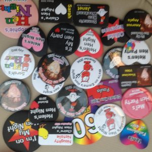 Badges next day delivery