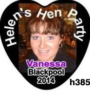 Photo Badges - Heart Shaped